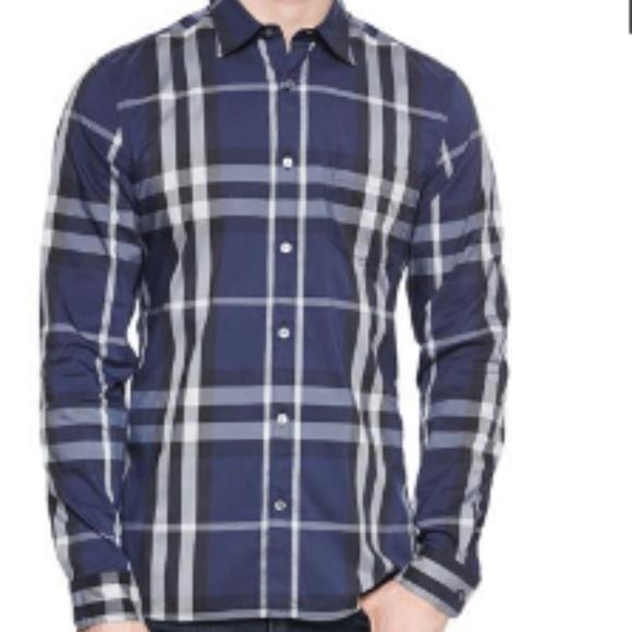 e6991c84 Burberry Shirts | Brit Nelson Longsleeve Woven Check Shirt | Poshmark
